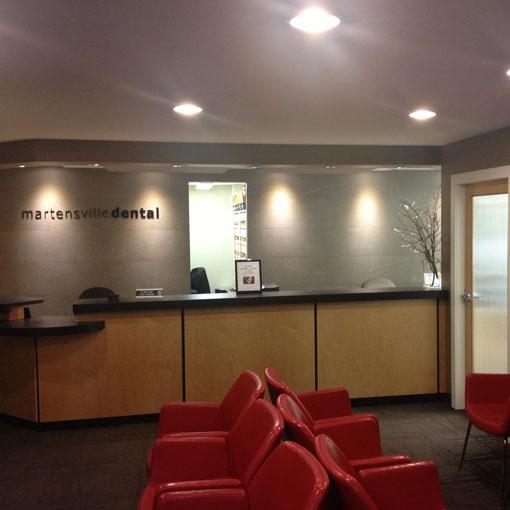 dentist office martensville