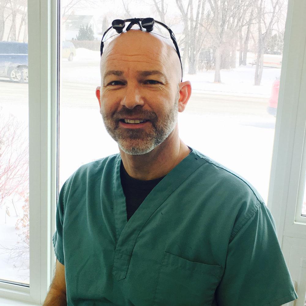 Family dentist, Dr Brian Meyer